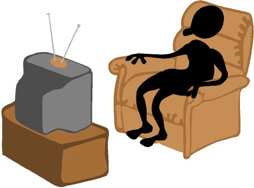 clipart boy watching tv - photo #39