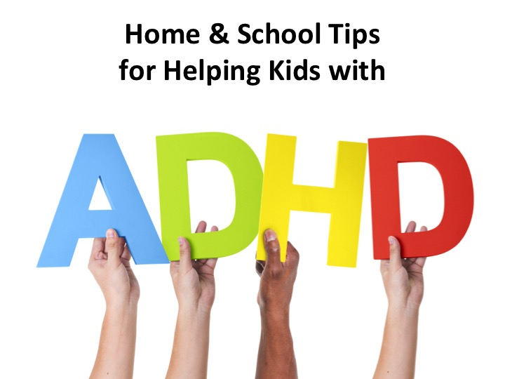 ADHD strategies for home and school